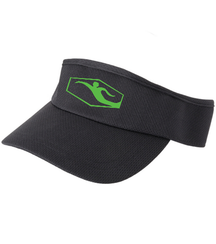 Swimmer visor - HeadSweats Men's Velocity Visor