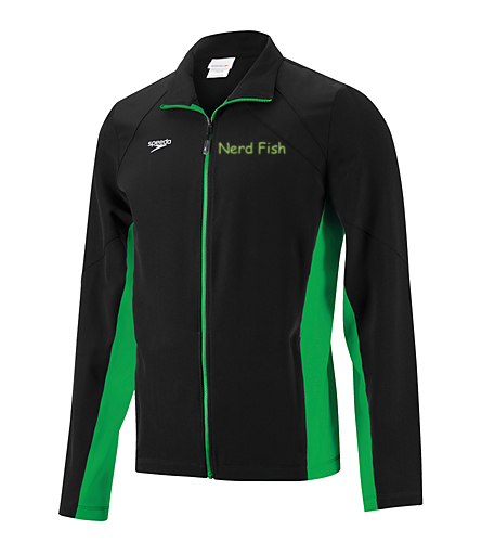 Keep warm - Speedo Men's Boom Force Warm Up Jacket