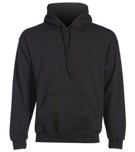 Logo back -  Heavy Blend Adult Hooded Sweatshirt