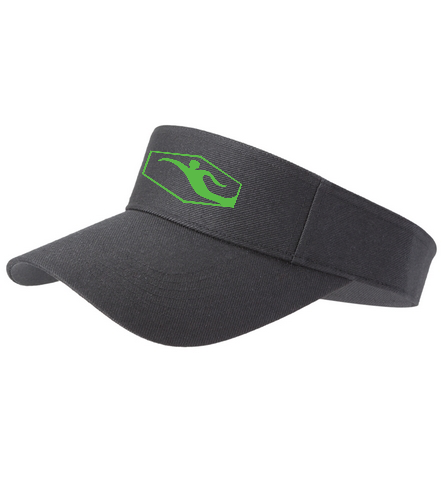 Swimmer vis - SwimOutlet Custom Cotton Twill Visor
