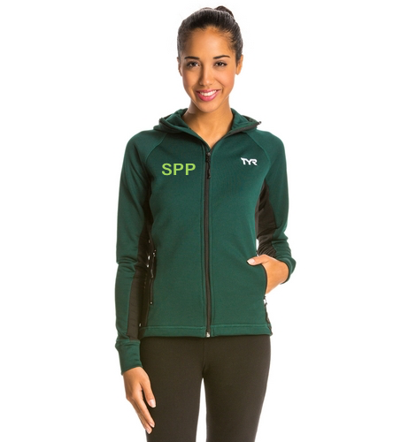Green hot - TYR Alliance Victory Women's Warm Up Jacket