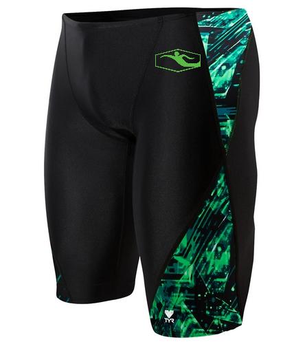 TYR Team Jammer - TYR Men's Vitrum Blade Splice Jammer Swimsuit