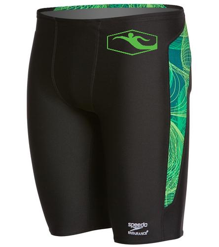 Speedo front - Speedo Endurance+ Men's Cyclone Strong Jammer Swimsuit