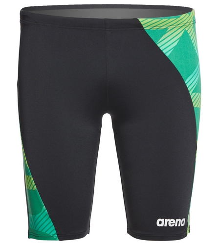 Sweet A - Arena Men's Spider Panel Jammer Swimsuit