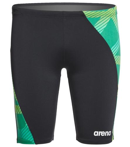 Super slick - Arena Men's Spider Panel Jammer Swimsuit