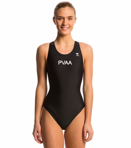 Women's Team Suit Version 2 - TYR Women's TYReco Solid Maxfit One Piece Swimsuit