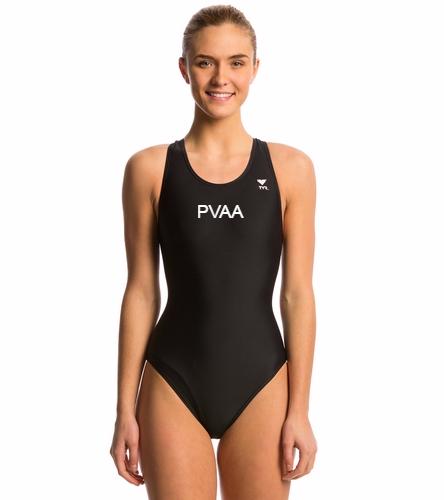 Women's Team Suit Version 2 - TYR Women's TYReco Solid Maxfit One Piece Swimsuit