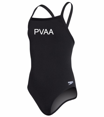 Youth Girls Team Suit - Speedo Girls' Solid Endurance + Flyback Training Swimsuit