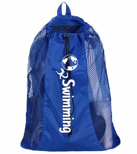 O2 Blue - Sporti Premium Mesh Backpack