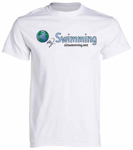 O2 White  - SwimOutlet Cotton Unisex Short Sleeve T-Shirt