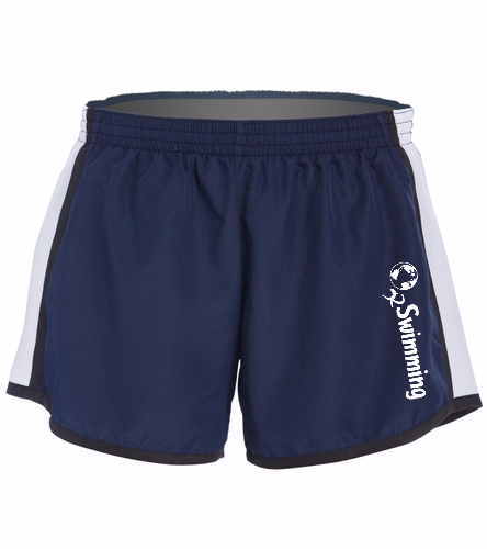 O2 Navy - SwimOutlet Custom Unisex Team Pulse Short