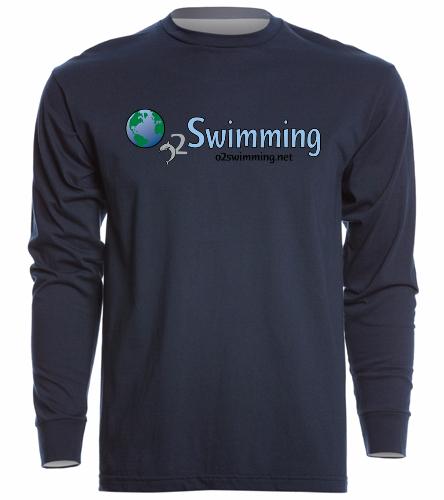 O2  - SwimOutlet Unisex Long Sleeve Crew/Cuff