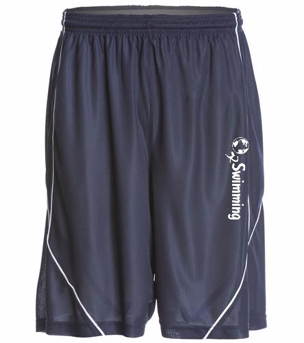 O2 Navy - SwimOutlet Men's Mesh Short