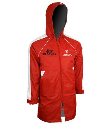 Regency Estates Swim Team - Adult Team Parka - TYR Alliance Team Parka