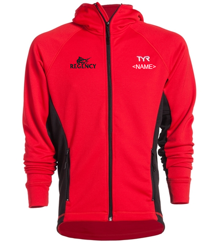 Regency Estates Swim Team  - TYR Alliance Victory Male Warm Up Jacket