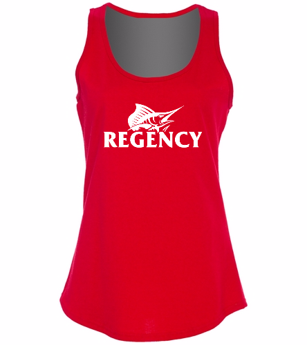 Regency -  Ladies 5.4-oz 100% Cotton Tank Top
