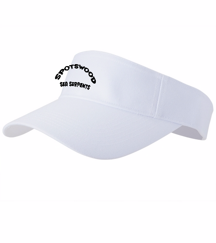 Spotswood Visor - SwimOutlet Custom Cotton Twill Visor