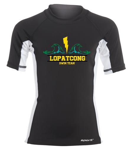 LST - Sporti Youth Unisex S/S UPF 50+ Sport Fit Rash Guard