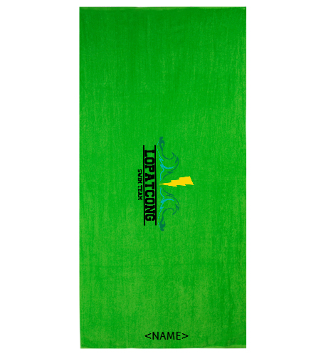 LOPAT - Diplomat Terry Velour Beach Towel 30 x 60