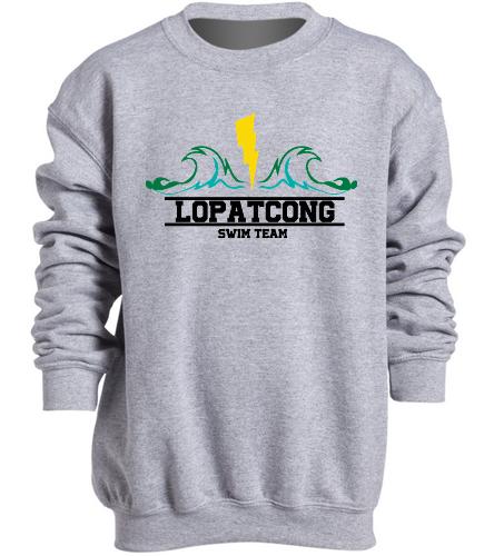 LOPAT - SwimOutlet Heavy Blend Youth Crewneck Sweatshirt