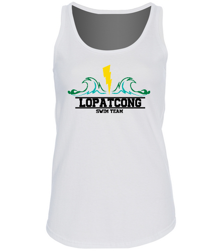 LOPAT - SwimOutlet Women's Cotton Racerback Tank Top