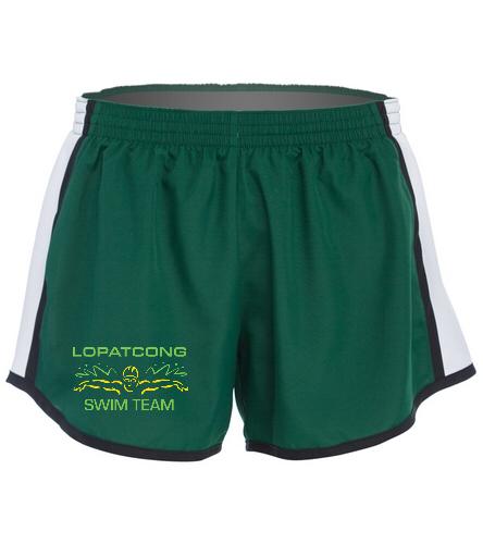 Green shorts - SwimOutlet Custom Unisex Team Pulse Short