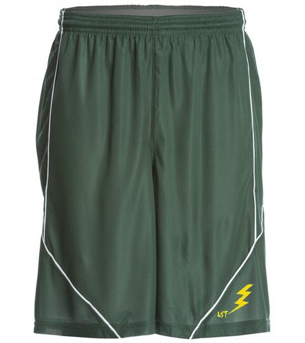 green mesh short - SwimOutlet Men's Mesh Short