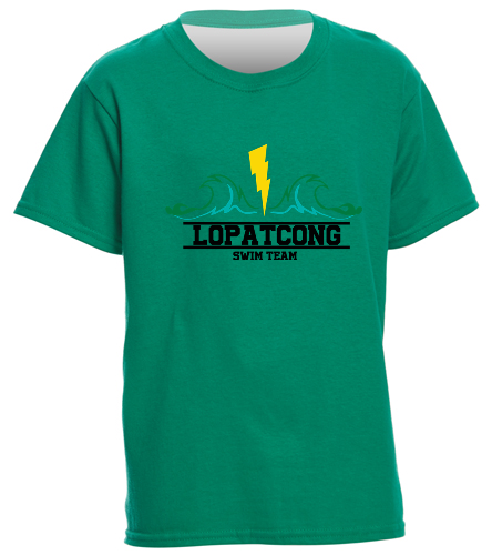 LOPAT - SwimOutlet Youth Cotton T Shirt - Brights