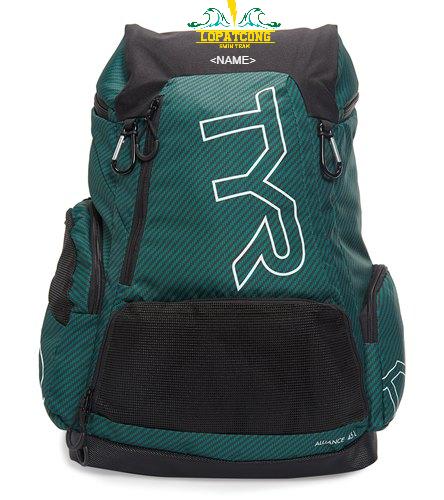 TYR bag - TYR Alliance 45L Team Carbon Print Backpack