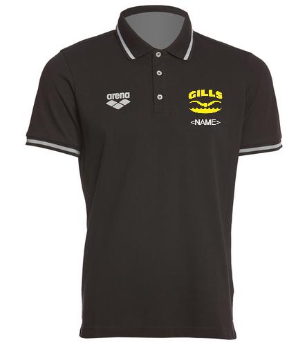 Gills - Arena Unisex Team Line Cotton Pique Polo