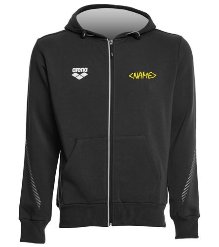 Gills Back Logo - Arena Unisex Team Line Fleece Hooded Jacket