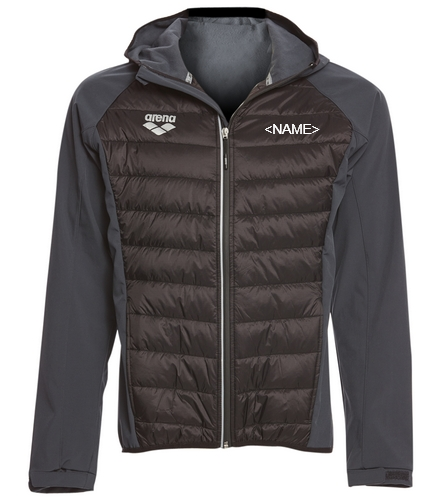 Gills  - Arena Unisex Team Line Quilted Soft Shell Jacket