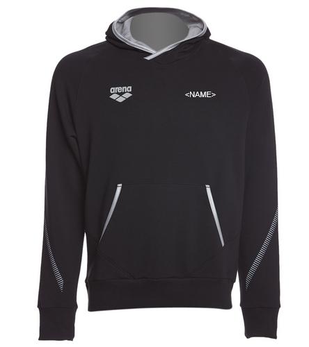 Gills Back Logo - Arena Unisex Team Line Stretch Fleece Pullover Hoodie