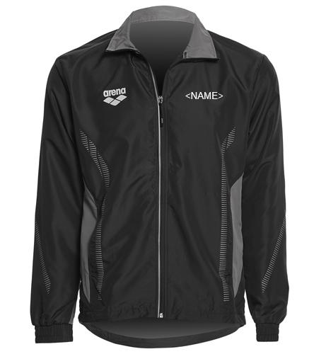 Gills Back Logo - Arena Unisex Team Line Ripstop Warm Up Jacket