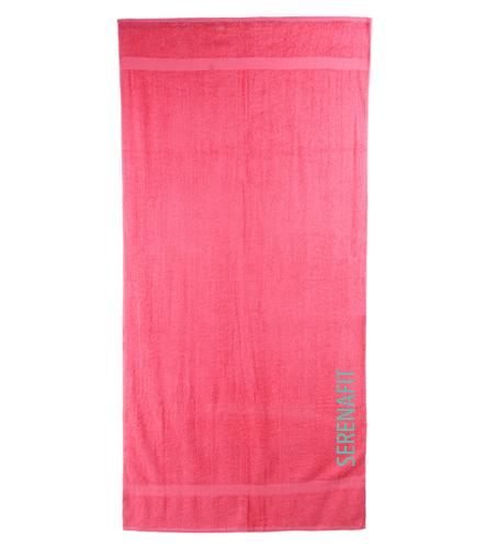 Mermaid Beach Towel - Royal Comfort Terry Cotton Beach Towel 32 x 64