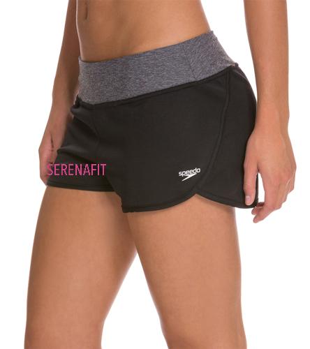 For the Long Run Short - Speedo Women's Solid Team Short
