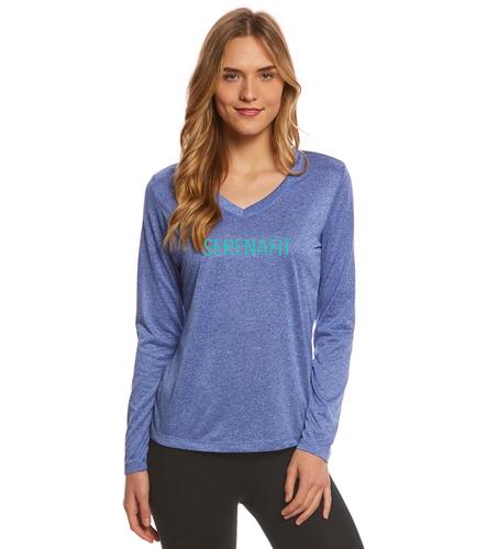 Slow Flow Long Sleeve - SwimOutlet Women's Long Sleeve Tech T Shirt