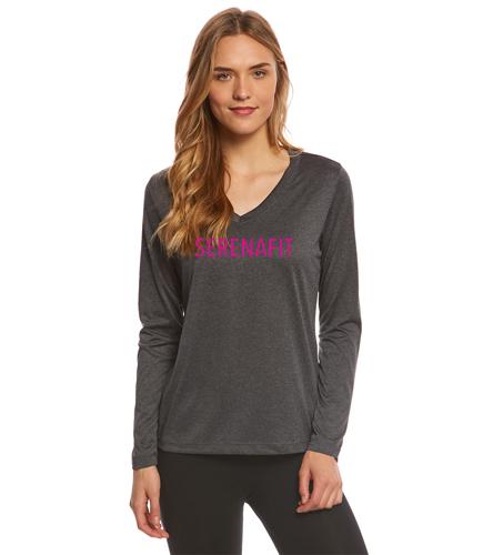 On the Go Long Sleeve - SwimOutlet Women's Long Sleeve Tech T Shirt
