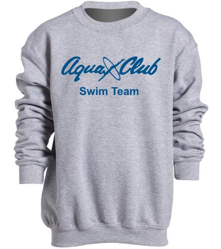 AC Youth Sweatshirt Grey -  Heavy Blend Youth Crewneck Sweatshirt