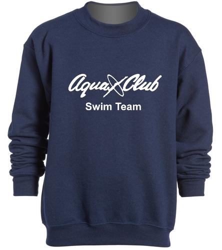 AC Youth Navy sweatshirt -  Heavy Blend Youth Crewneck Sweatshirt