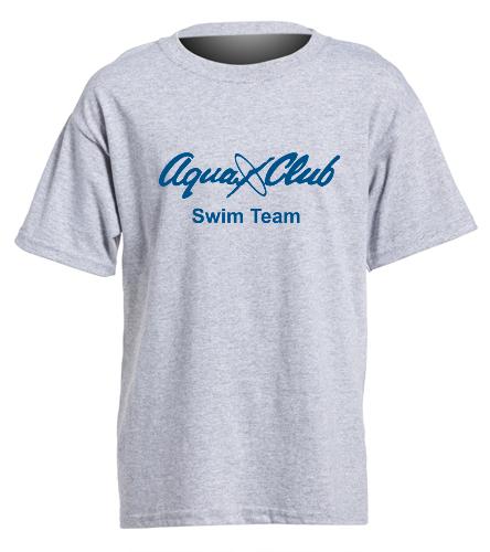 AC Youth T Shirt Grey - Heavy Cotton Youth T-Shirt