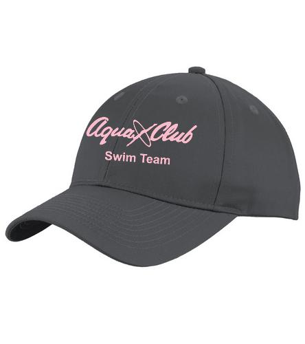 AC BBall Hat Grey/Pink - Unisex Performance Twill Cap