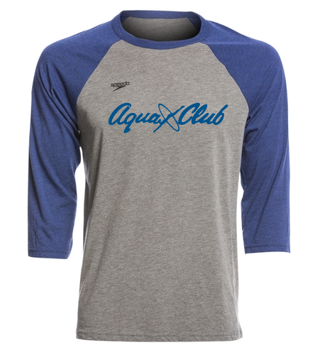 AC T-Shirt Mid Sleeve - Speedo Unisex Baseball Tee Shirt