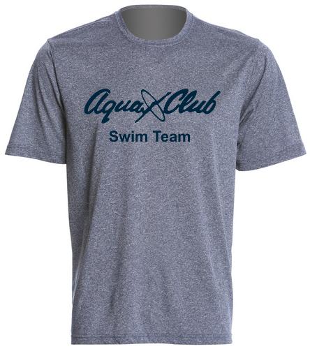 AC Dark Grey Mens Tech T Shirt - SwimOutlet Men's Tech Tee
