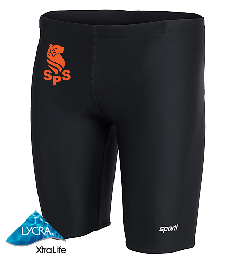 Sea Tigers Boys Sporti Jammer - Sporti Solid Compression Jammer Swimsuit