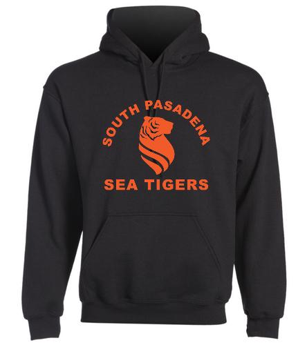 Sea Tiger Adult Sweatshirt - SwimOutlet Heavy Blend Unisex Adult Hooded Sweatshirt