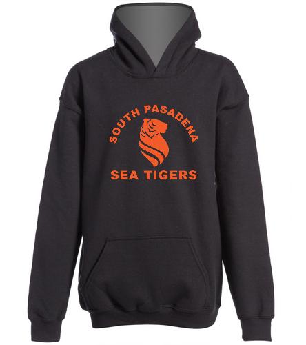 Sea Tiger Youth Sweatshirt - SwimOutlet Youth Heavy Blend Hooded Sweatshirt