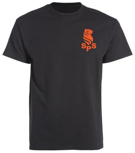 Sea Tigers Adult Shirt / 2 sides - SwimOutlet Unisex Cotton Crew Neck T-Shirt