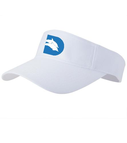 Dads CLUB Visor - SwimOutlet Custom Cotton Twill Visor
