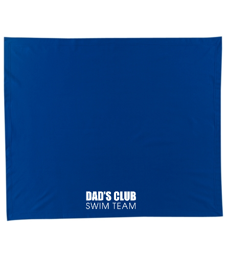 Dad's Club Stadium Blanket - SwimOutlet Stadium Blanket